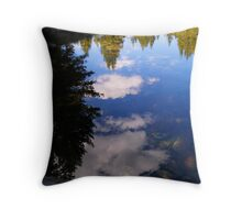 Refections of Lyle Fork Throw Pillow