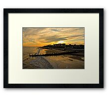 Southwold's Quiet Framed Print