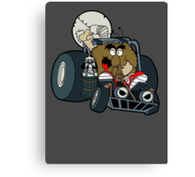 Murky and Lurky Cruise Round In Their Doom Buggy Canvas Print