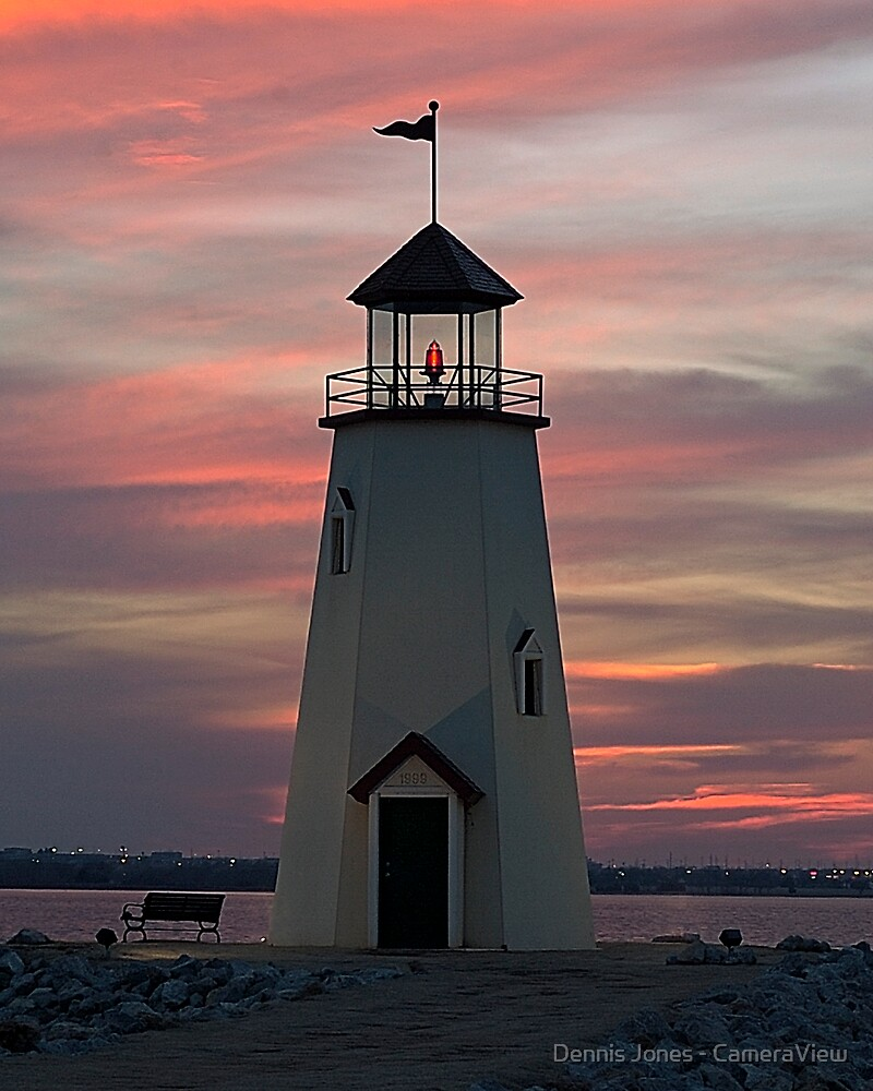 East Wharf Lighthouse by Dennis Jones - CameraView
