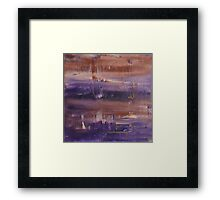 No Rest for the Wicked - Abstract Art Framed Print
