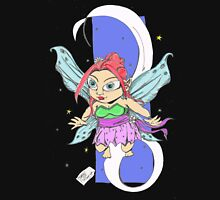 Fairy chibi Womens Fitted T-Shirt