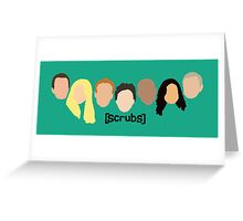 Scrub Heads Greeting Card