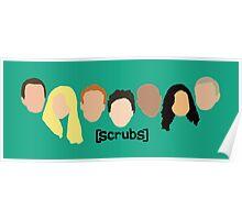 Scrub Heads Poster