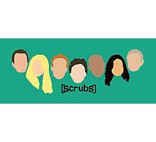 Scrub Heads Photographic Print