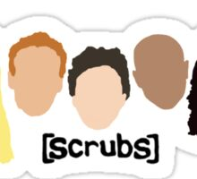 Scrub Heads Sticker