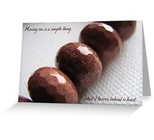 Moving On Greeting Card