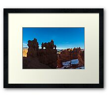 Bryce Canyon Hoodoos and Windows Framed Print