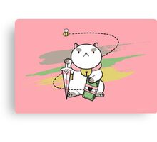 Peon, Bow to me! Canvas Print