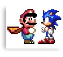 16-bit Rivals Canvas Print