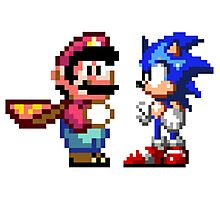 16-bit Rivals Photographic Print