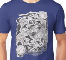 13 doctors lost b&w Unisex T-Shirt