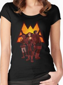 Team Magma Women's Fitted Scoop T-Shirt