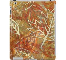 Leaves 18 Mixed Media - Monoprint and Ink iPad Case/Skin