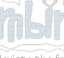 Calmbirth - alleviate the fear Sticker