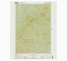 Maine USGS Historical Map Old Speck Mountain 102845 2000 24000 One Piece - Short Sleeve