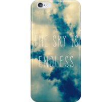 The Endless Sky iPhone Case/Skin