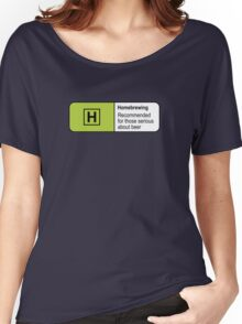 Homebrewing Classification Women's Relaxed Fit T-Shirt