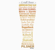 Craft Beer - Sticker by yeasties