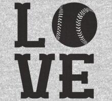 Baseball Love 2 One Piece - Long Sleeve
