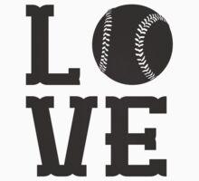 Baseball Love 2 Kids Tee