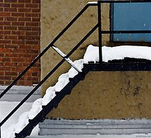 Stairs on Ice by Judith Oppenheimer