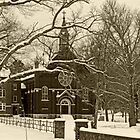 The Arcadia Academy in Sepia by Susan S. Kline