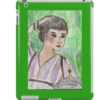 Sabina( Patrician Lady Of Ancient Rome) iPad Case/Skin
