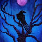 The Raven Nevermore by Roz Abellera Art Gallery