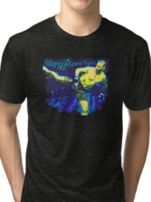 Natural Born Fighter Tri-blend T-Shirt