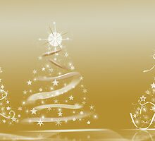 Gold Twinklers by Maria Dryfhout