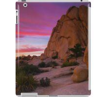 Joshua Tree Sunset  Intersection Rocks iPad Case/Skin