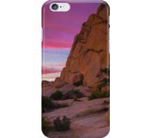 Joshua Tree Sunset  Intersection Rocks iPhone Case/Skin