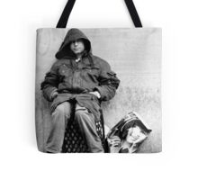 Two Faces Tote Bag