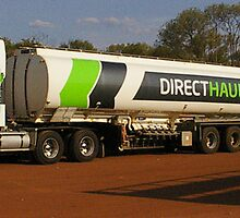 Kenworth tanker roadtrain by boydcarmody