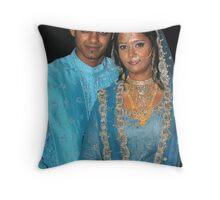 Arsha & Shuaib ♥ 28th December 2007 Throw Pillow