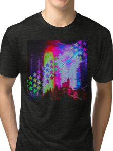 Another Psychedelic Design Tri-blend T-Shirt