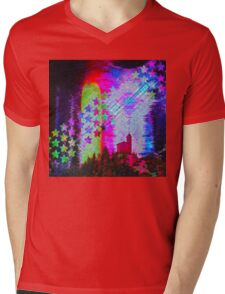 Another Psychedelic Design Mens V-Neck T-Shirt