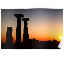 Temple Of Athena / ASSOS - Turkey Poster