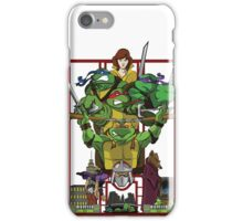 Enter the Turtles iPhone Case/Skin
