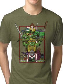 Enter the Turtles Tri-blend T-Shirt