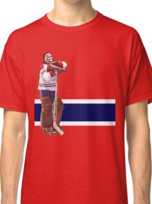 Ken Dryden - The Pose (red) Classic T-Shirt