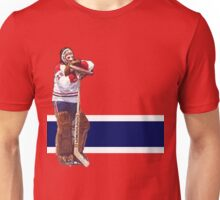 Ken Dryden - The Pose (red) Unisex T-Shirt