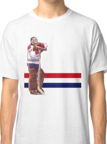 Ken Dryden - The Pose (white) Classic T-Shirt