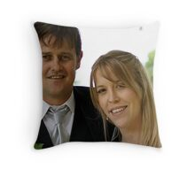 Cheryl & Terry ♥ 28th March 2008 Throw Pillow
