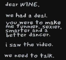 Dear Wine by JohnDSmith