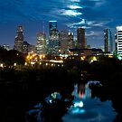 Houston Supermoon by thatche2