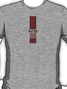 White N7 Stripe T-Shirt
