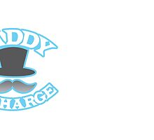 DADDY in charge with top hat and mustache by jazzydevil