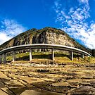 Sea Cliff Bridge at Low Tide by John Sharp